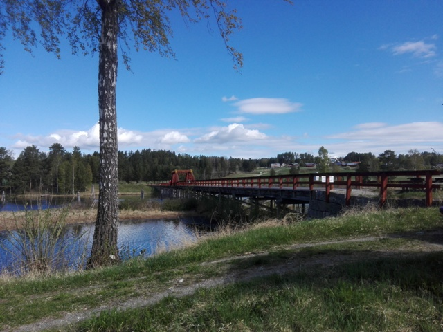 Bron från södra sidan